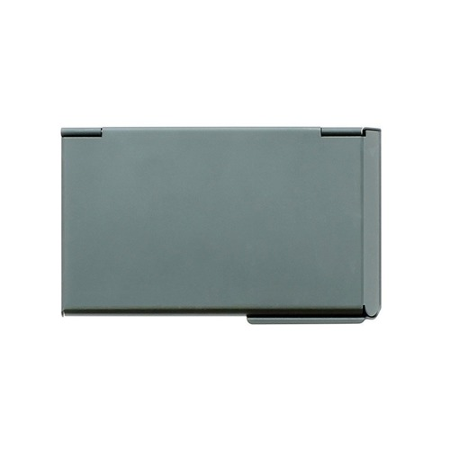 Ogon Designs One Touch Business card Holder - Platinium