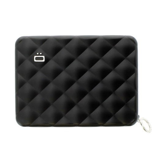 Ogon Designs Quilted Passport Black Wallet RFID protect