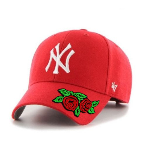 Snapback 47 Brand MLB New York Yankees '47 MVP Custom Rose B-MVP17WBV-RD