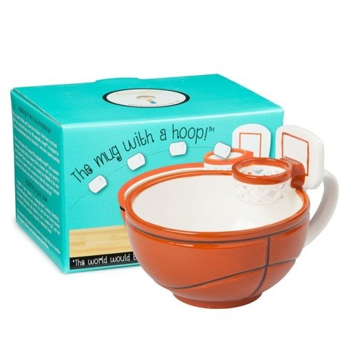 Spalding NBA Platinum Streetball Outdoor + MAX'IS Creations Cup - Basketball The Mug With A Hoop
