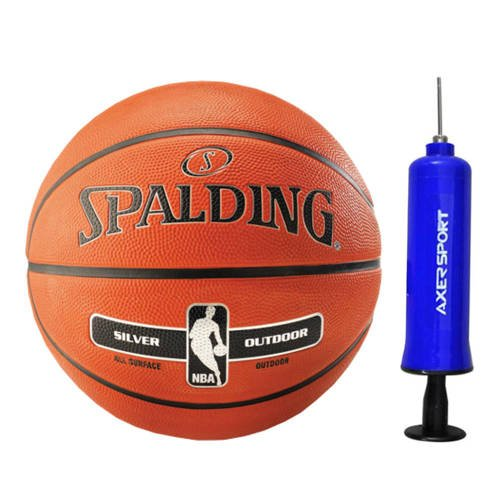 Spalding NBA Silver Basketball Outdoor