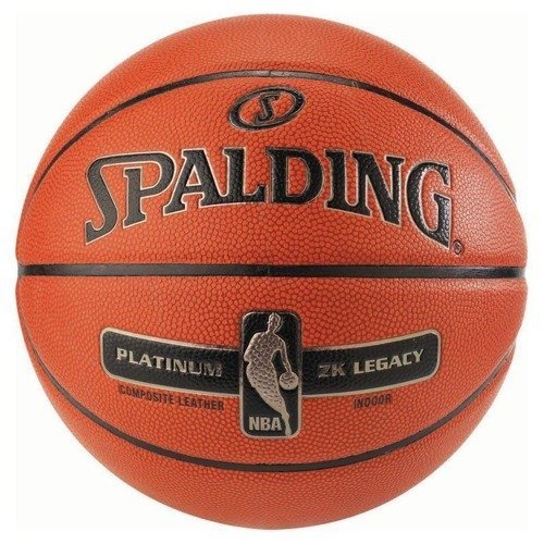 Spalding Platinum ZK Legacy Indoor Basketball + Air Jordan Essential Ball Pump