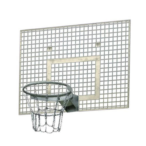 Sure Shot 144 Steel Basketball Backboard Grid + Basketball Rim