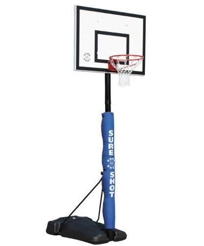 Sure Shot 521 Seattle Basketball Set with polypropylene backboard