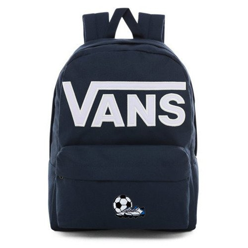 Vans Old Skool III Dress Blues-White Backpack - VN0A3I6R5S2 - Custom Football