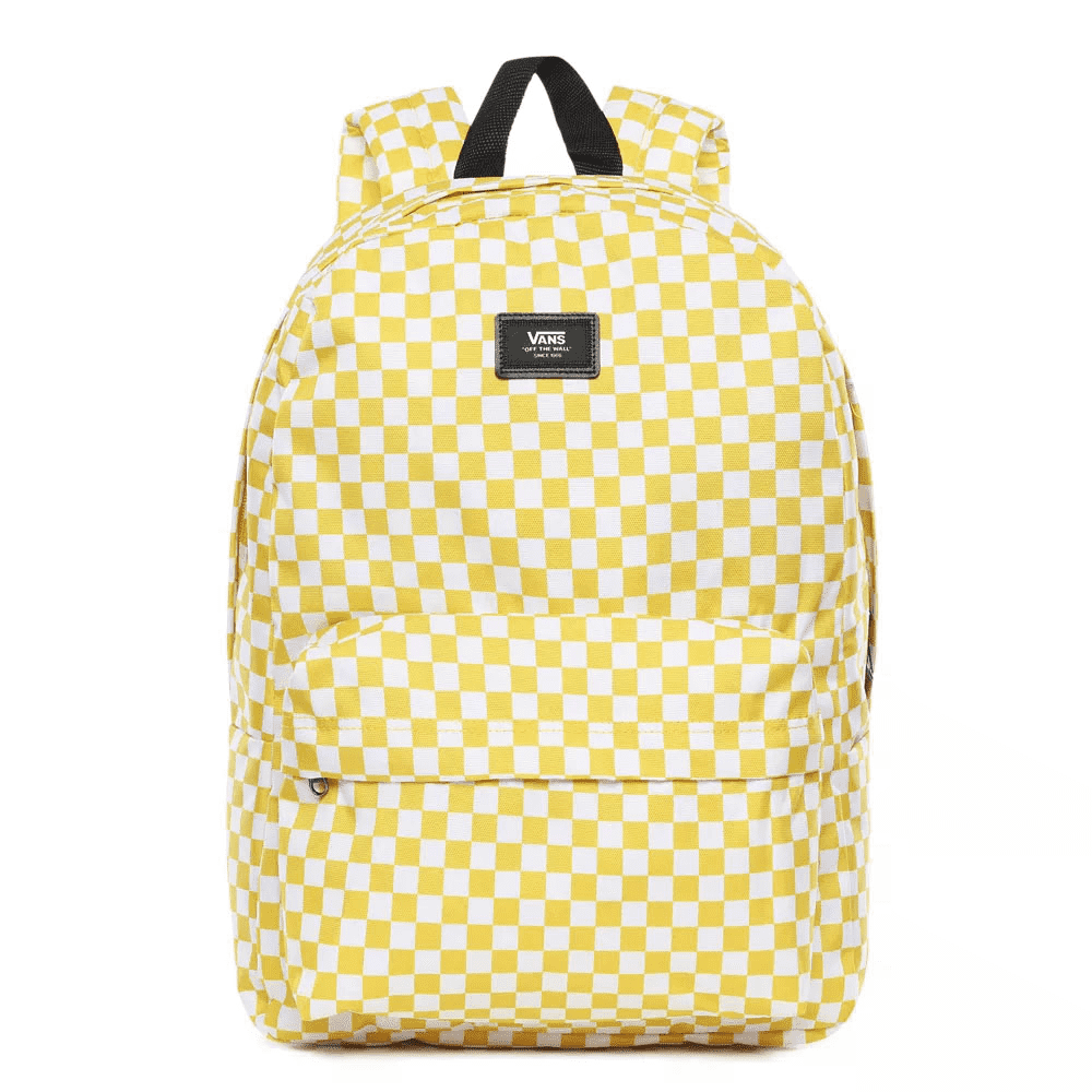 Vans Old Skool III Sulphur-White Check Backpack  - VN0A3I6RYPQ