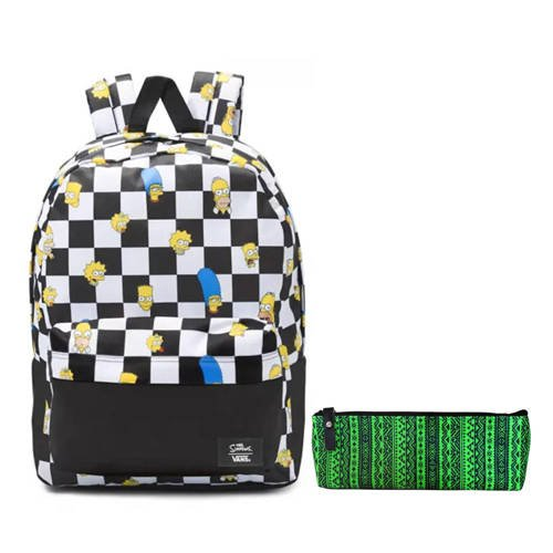 Vans Old Skool III The Simpsons Flmy Chc Backpack - VN0A3I6RZZZ + Case