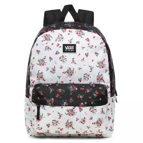 Vans Realm Classic Beauty Floral Patchwork Backpack - VN0A3UI7ZKW