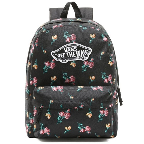 Vans Realm Satin Floral Backpack - VN0A3UI6UV31