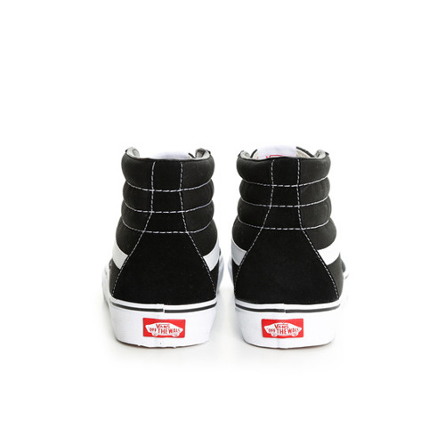 Vans Sk8 Hi Black White Women's shoes - VN000D5IB8C