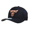 Mitchell & Ness NBA Chicago Bulls Black/Orange 110 Snapback