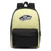 Vans Realm Lemon Tonic Checkerboard Backpack - VN0A3UI6VD7