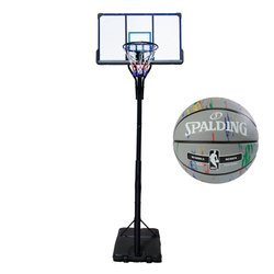 Basketball-Set TOP 305 cm+ Spalding NBA Marble Series
