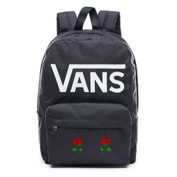 VANS - New Skool Backp Rucksack Custom Roses - VN0002TLY28 000