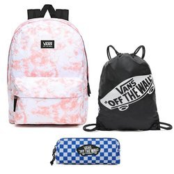 Vans Realm Classic Beauty Floral Patchwork Rucksack - VN0A3UI7ZKW