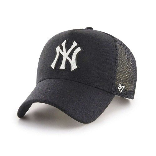 47 Brand New York Yankees Trucker Cap - B-CHLMM17WBP-BK