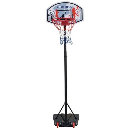 Basketballkorb Hudora All Stars + Spalding TF-50 + Jordan Pump