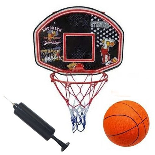 Junior Basketball Set Ball + Backboard + Rim