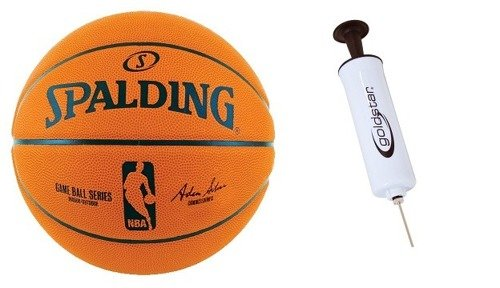 NBA Spalding Game Basketball Replic + Pump