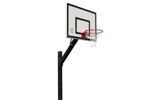 Sure Shot Heavy Duty Inground System Euro Court Basketball-Anlage - 661