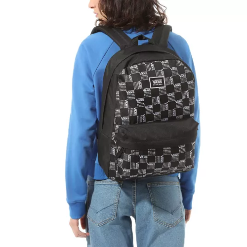 Vans Realm Word Check Rucksack - VN0A3UI7ZM0