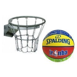 Basketball Rim + Spalding basketball NBA Junior Pallacanestro