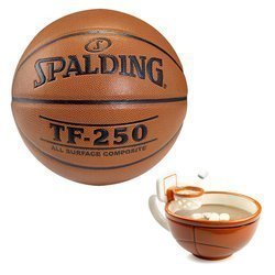 Basketball Spalding Pallacanestro TF-250 Indoor/Outdoor + MAX'IS Creations Basketball The Mug With A Hoop