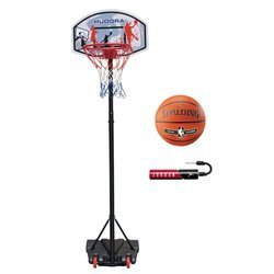 Basketball set Hudora All Stars + Spalding NBA Silver + Jordan Pump