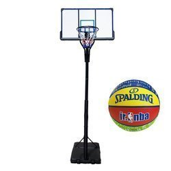 Set da basket TOP 305 cm + Spalding NBA Junior Basketball