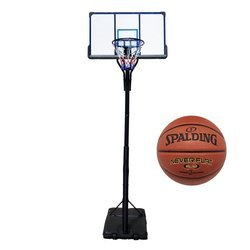 Set da basket TOP 305 cm + Spalding NBA NeverFlat