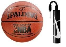 Spalding NBA Grip Control Batoh Indoor/Outdoor + Nike Essential Dual Action Ball Pump