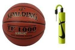 Spalding TF-1000 Legacy Basketball+ Nike Essential Dual Action Ball Pump