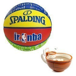 Spalding basketball NBA Junior Pallacanestro + MAX'IS Creations Basketball The Mug With A Hoop