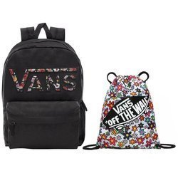 VANS Realm  Zaino - VN0A3UI8YGL 004 + VANS Benched Bag