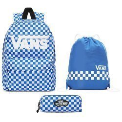 Vans New Skool Victoria Blue - VN0002TLJBS + Benched Bag + Pencil Pouch