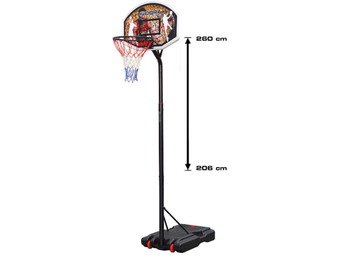 Basketball set Hudora Chicago