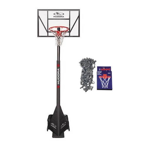 Basketball set Hudora Competition Pro + Sure Shot 405 Basketball Chain Net