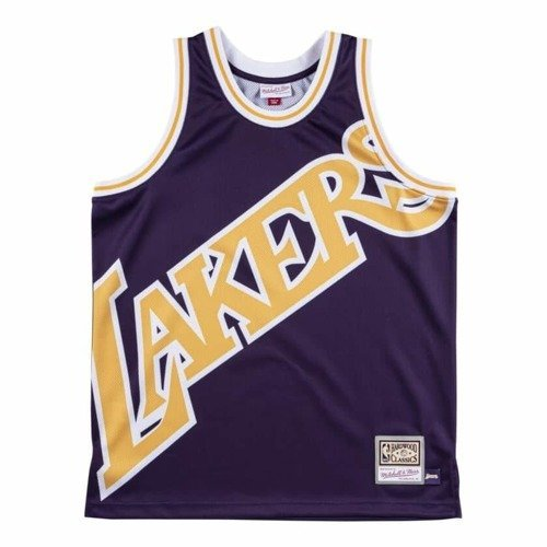 Mitchell & Ness NBA Big Face Los Angeles Lakers Jersey + Shorts