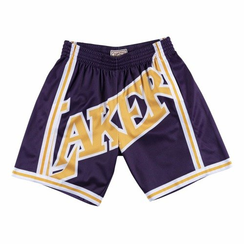 Mitchell & Ness NBA Big Face Short Lakers 96-97 - SHORBW19069-LALPURP96