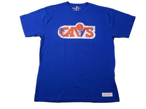 Mitchell & Ness NBA Cleveland Cavaliers Caricature Traditional T-Shirt
