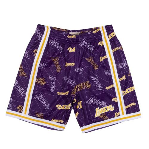 Mitchell & Ness NBA Los Angeles Lakers - SHORBW19082-LALPTPR
