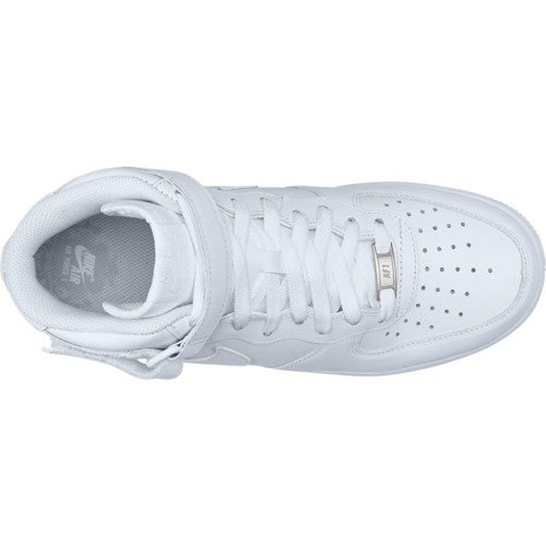Nike Air Force 1 Mid All White - 315123-111