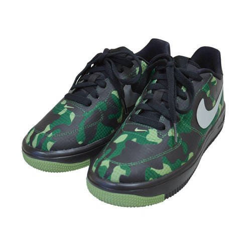 Nike Air Force 1 Ultra Low Camo SE GS Shoes - 859340-002