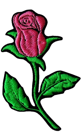 Patch per abbigliamento Thermal Pink Rose Rosa
