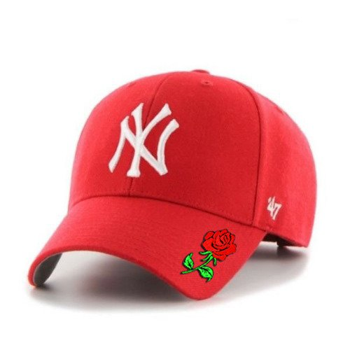 Snapback 47 Brand MLB New York Yankees '47 MVP Custom Rose - B-MVP17WBV-RD