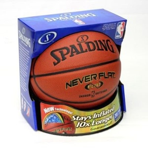 Spalding Never Flat indoor/outdoor Pallacanestro- 3001530010017