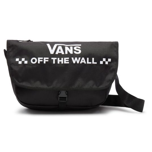 Vans Courier Messenger Bag - VN0A3NG6BLK
