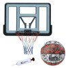 Basketball backboard MASTER 110 x 75 cm Acryl + Spalding NBA Graffiti USA Outdoor + pump