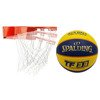 New Port Tilting basket - 16NT-ORA + Spalding TF-33 Ball