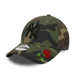 Czapka z daszkiem bejsbolówka New Era New York Yankees Camo Custom Rose